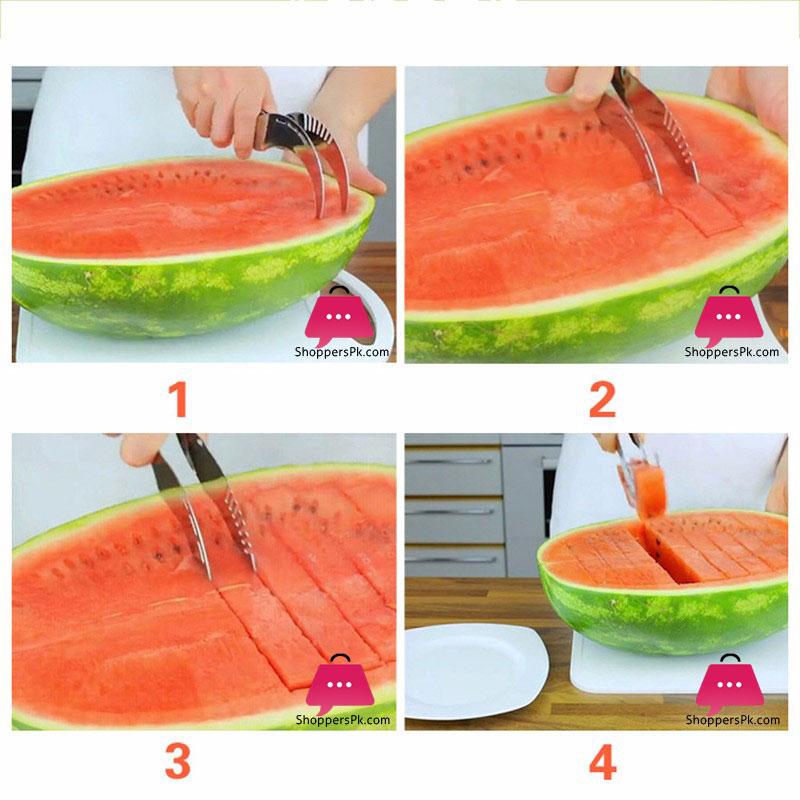 sharp-watermelon-slicer-stainless-steel-melon-cutter-corer-server-in-Pakistan-2