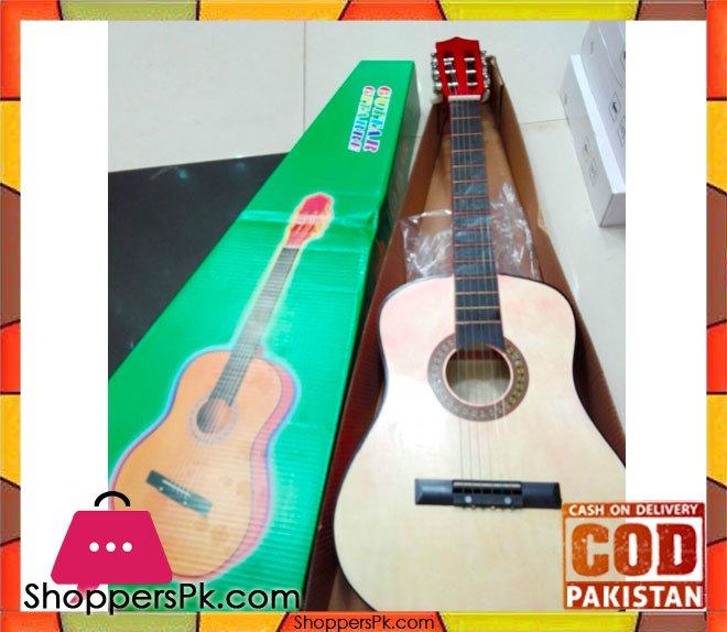 buy 33 inch flok guitar six steel strings at best price in pakistan. Black Bedroom Furniture Sets. Home Design Ideas