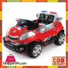 Battery Operated Car JY-2098 - Red/White