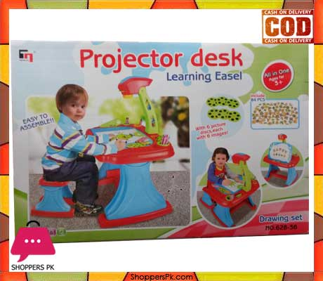 Kids Projector Desk With Chair