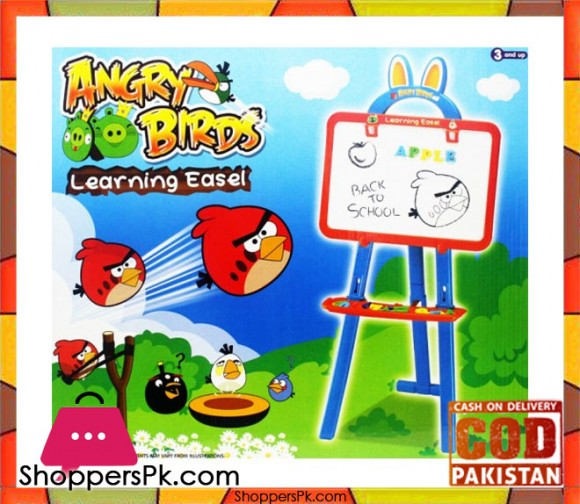 Learning Easel Board Angry Bird