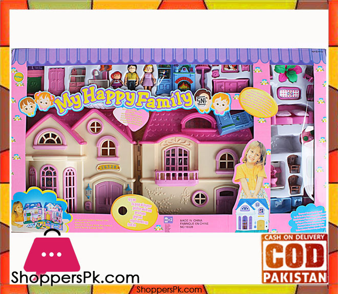 Buy My Happy Family Doll House Play Set At Best Price In Pakistan