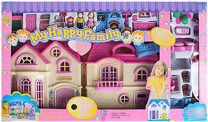 Buy My Happy Family Doll House Play Set At Best Price In