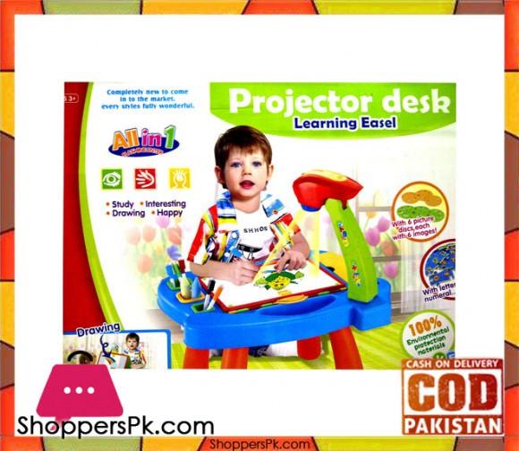 Projector Desk Learning Easel
