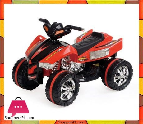 Buy Battery Operated 4 Wheel Atv Bike Double Battery Doule