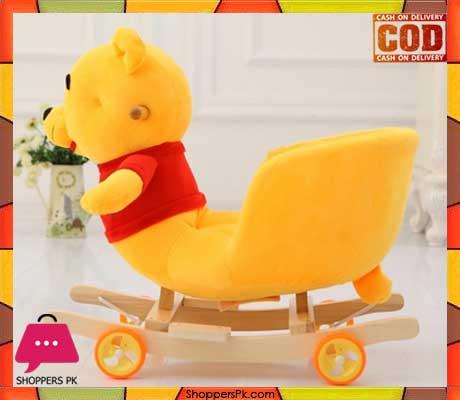 Rocking Pooh Ride with Wheel