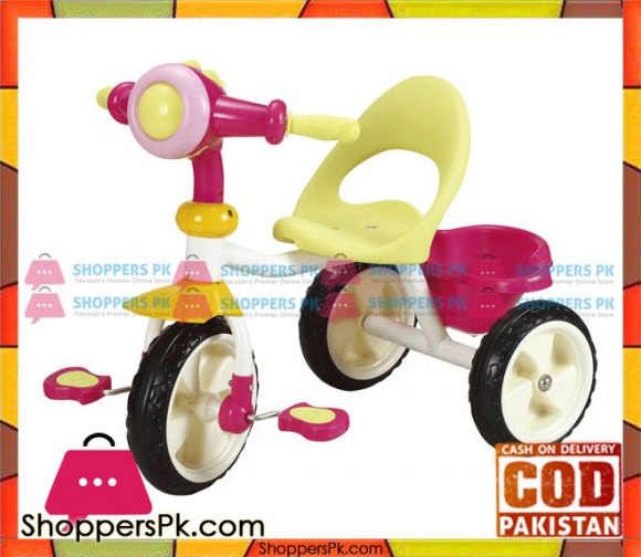 Tricycle T-2986 - Yellow Pink