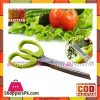 5 Layers Scissors Shredded Scallion Cut Herb Spices Stainless Steel Kitchen Tool