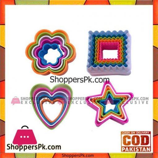5Pcs Cookie Cutter Plastic