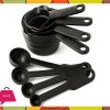 8-Pcs-Black-Plastic-Measuring-Cups-Spoon-Set