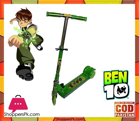 Ben-10 Scooty Flashing Wheel