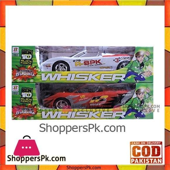 Ben 10 Whisker Rc Car
