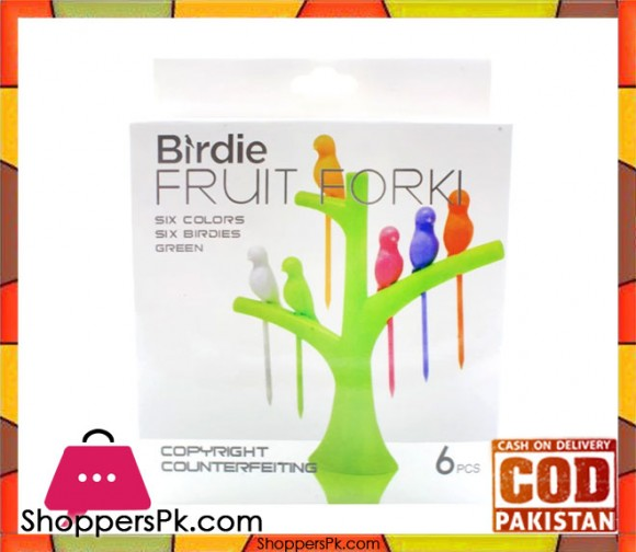 Bird Fruit Forks Stick
