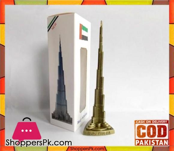Burj Khalifa Metal Model 18 cm