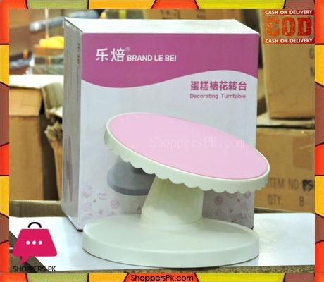 Revolving cake stand Plastic Cake Turntable