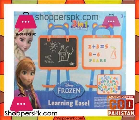 Frozen Learning Easel Board Frozen 3 in 1