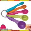 Measuring Spoons Multi Color 5 Pieces
