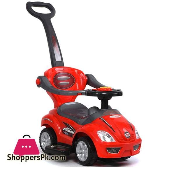 Mega Car 3 In 1 - Stroller/Walker Car/Riding Car