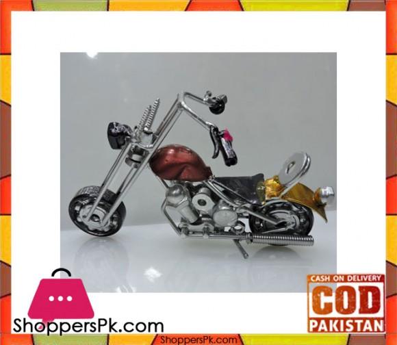 Metal Art Hand Made Motorcycle Model