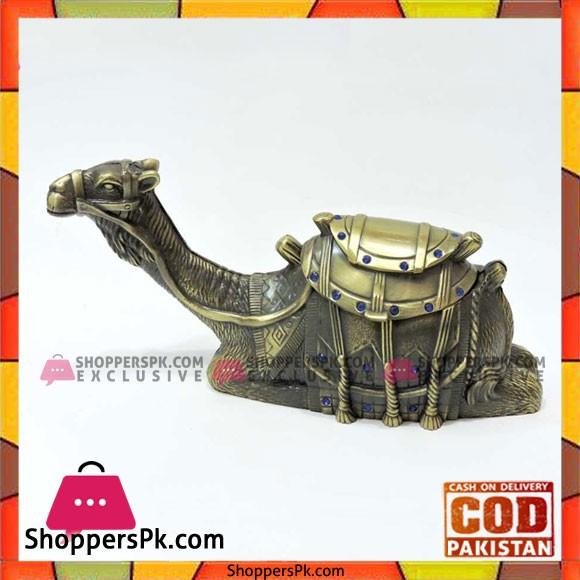 Pewter Metal Camel Jewellery Box