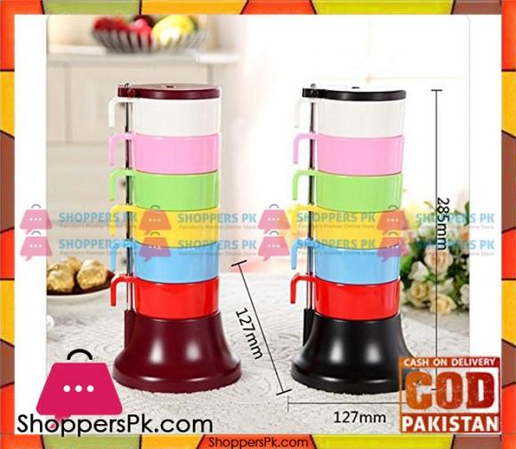 Rainbow Cups Set 6 Pcs