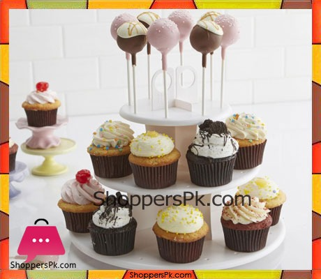 Sweet Creation Cup Pop & Cupcake Stand