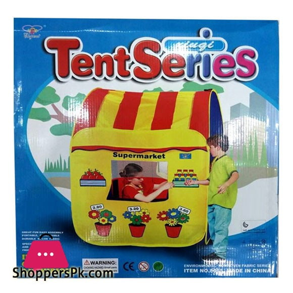 Tent Series Tent House Super Market For Kids 1713