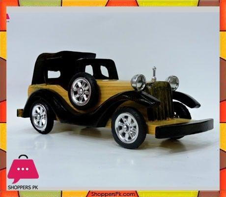 Wooden Car 10 Inch