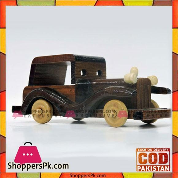 Wooden Car 6 Inch