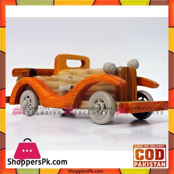 Wooden Car 8 Inch