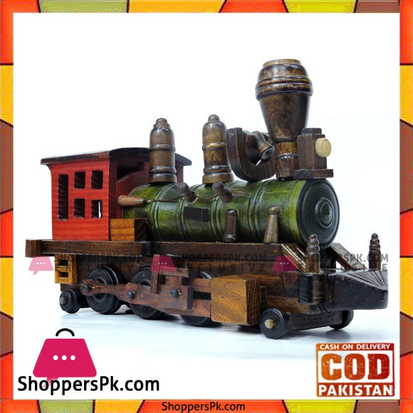 Wooden Train Engine 12 Inch