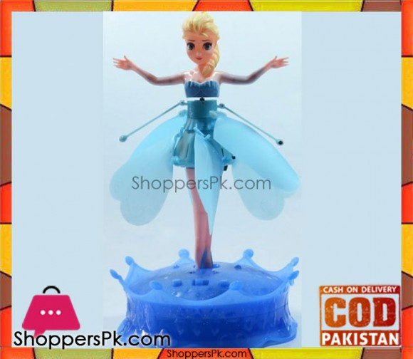 Flying Fairy Frozen Toys with Light and Music