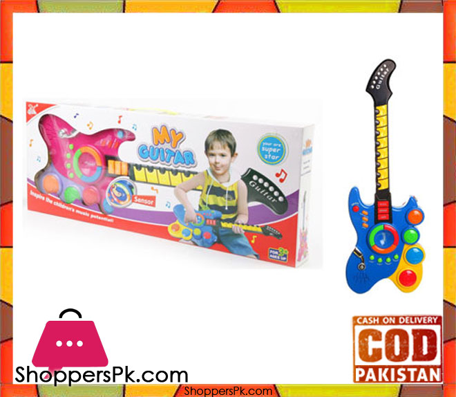buy musical rock guitar toy at best price in pakistan. Black Bedroom Furniture Sets. Home Design Ideas