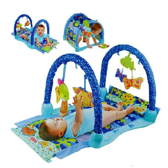 3 in 1 Baby Children Kids under the sea Musical Activity Gym Play foam Mat Carpet