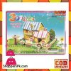 3D Super Puzzle 4 Sheet Cartoon Cabin