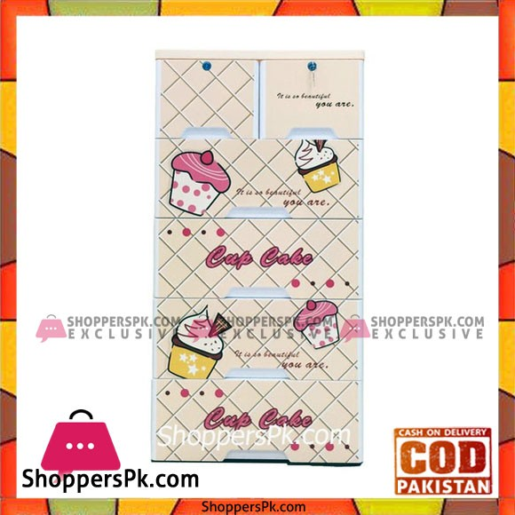 Baby Clothes Storage Drawer Plastic Cupcake