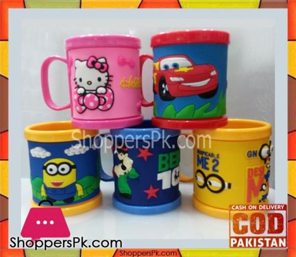 High Quality Plastic Cartoon Mug One Pieces
