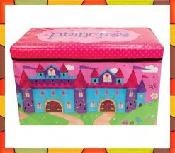 Kids-Storage-Foldable-Seats-Princess