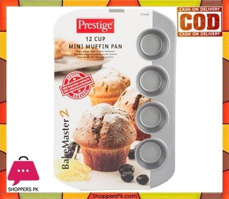 PRESTIGE 12 CUP MINI MUFF PAN