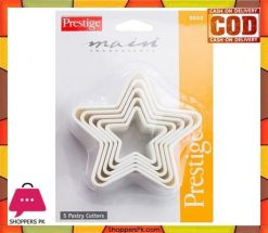 Prestige 5 Piece Star Shape Pastry Cutters