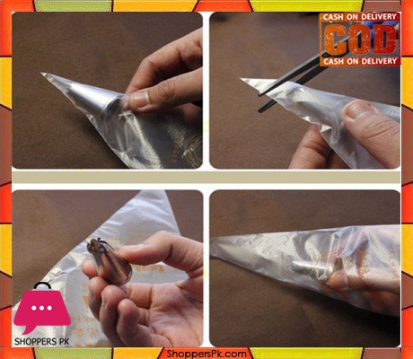 100 PCS Decorating Icing Piping Bag Disposable