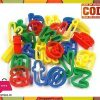 26 Plastic Playdough Cookie Cutters A-Z