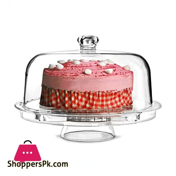 Acrylic Plastic 6 in 1 Cake Stand