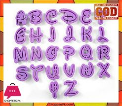 Disney Alphabet Cookie Cutter 26 pcs