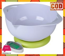 Electronic Kitchen Scale 2 Bowl 5kg x 1g