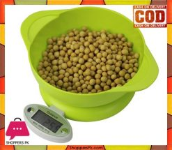 Electronic Kitchen Scale 2 Bowl 5kg x 1g