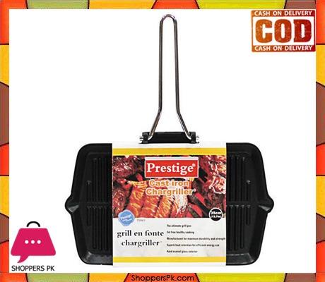 Grill Pan Prestige Cast Iron 35cm