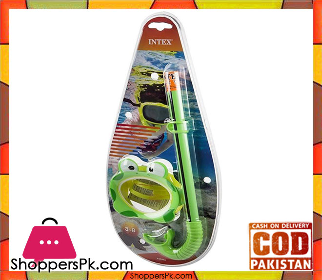 Buy Intex Froggy Fun Swim Set Goggle Pippe For Age 3