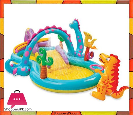 Intex-Dinoland-Inflatable-Play-Center,-131-X-90--X-44-Ages-3+-Price-in-Pakistan