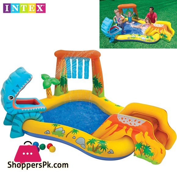 Intex Dinosaur Play Center - Age 3+ - 57444
